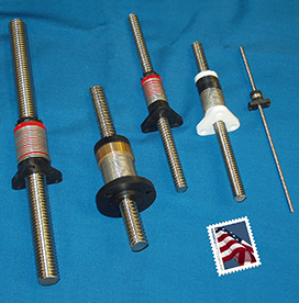 Acme Lead Screws and Anti-Backlash Lead Screw Nuts